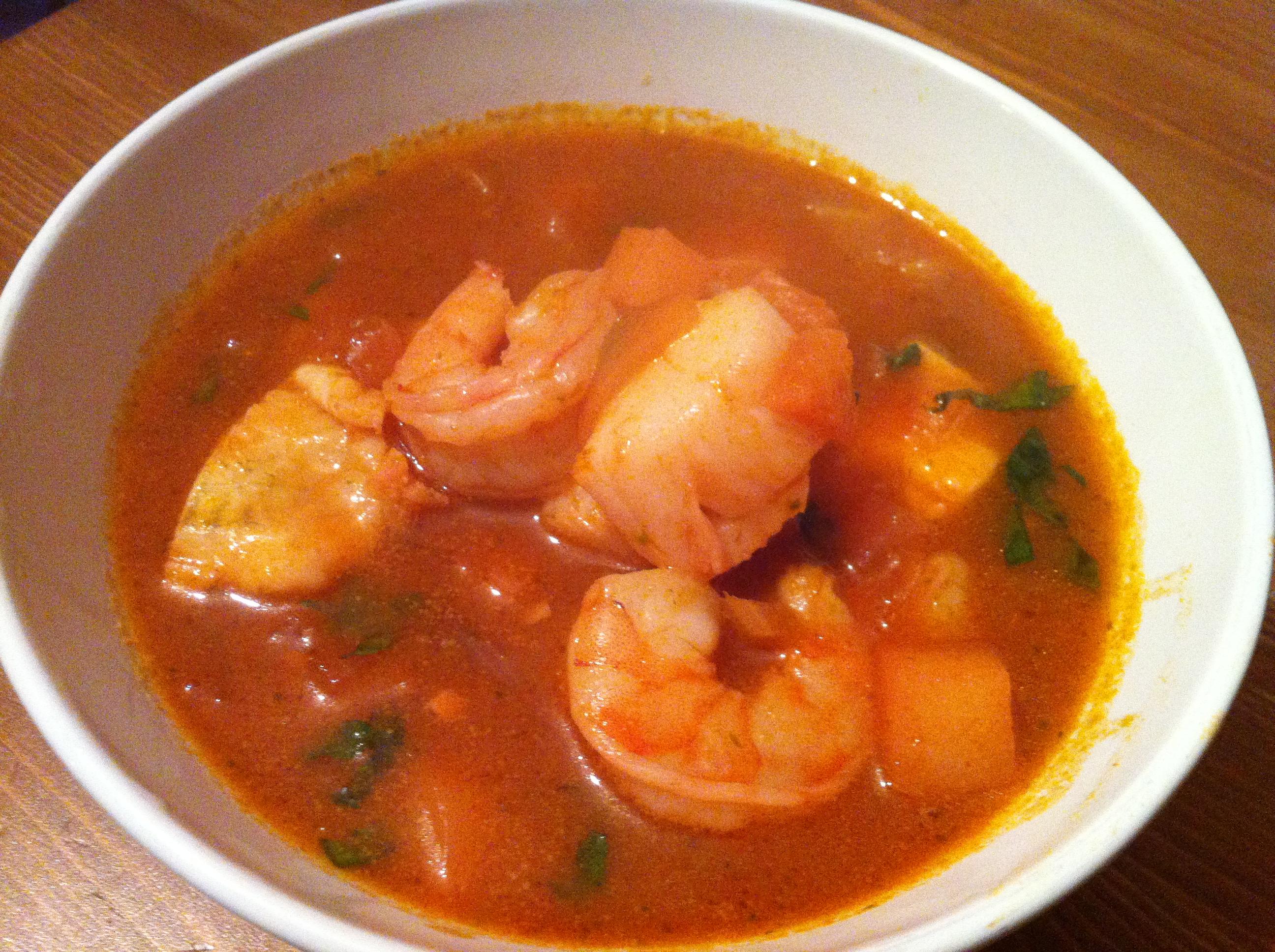 Soupe de poisson et fruits mer dcouverteculinaire et - Soupe de legume maison ...