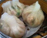 Dumpling aux arachides, crevette,porc et ciboulette