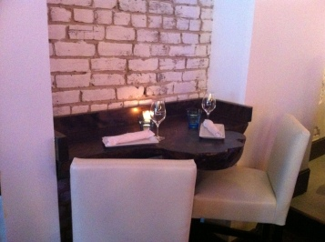 Petite table très romantique