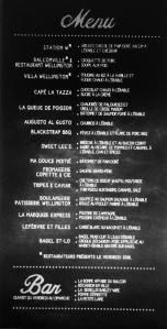 menu sucre Verdun