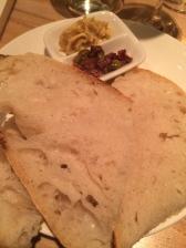Tapenade et pain maison
