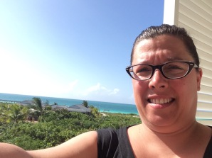 Selfie de mon balcon Playa Cayo Santa Maria