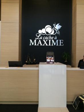 La cache à Maxime