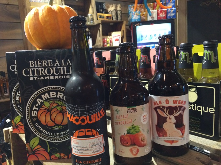 Des bières pour l'Halloween