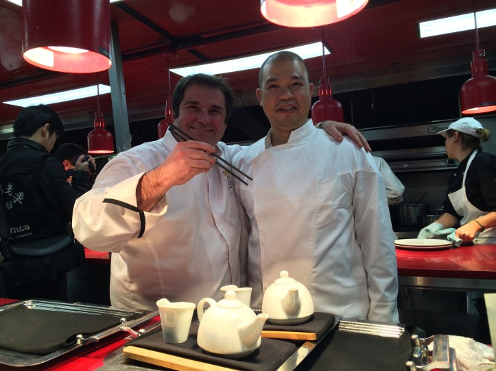 Jérôme Ferrer et Mark Wu