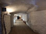 sous-sol du monastère
