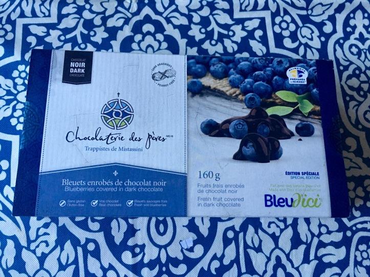 Chocolat aux bleuets des pères trappistes