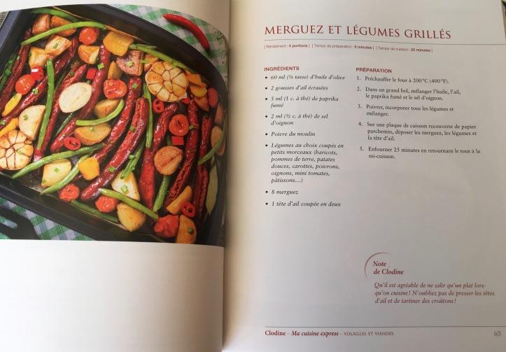 Clodine, Ma cuisine Express